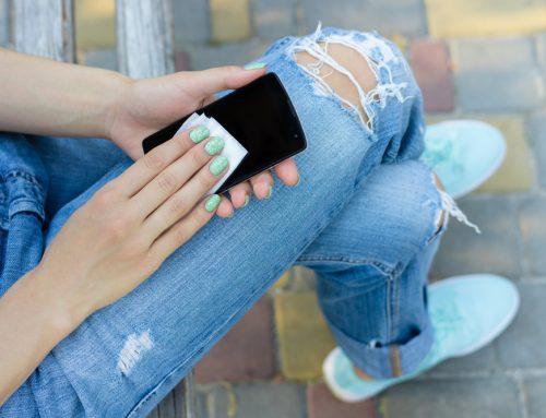 Ako efektívne čistiť a dezinfikovať mobilný telefón tak, aby sme ho nepoškodili?