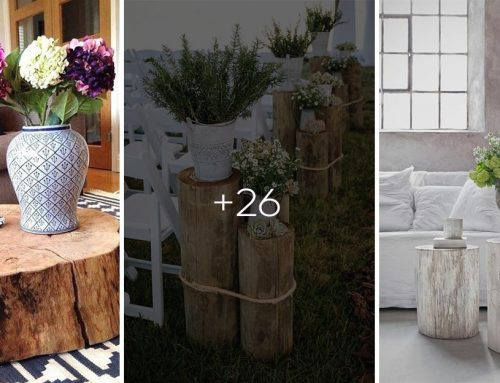 """25 kreatívných """"Urob si sám"""" nápadov, ako využiť peň stromu a skrášliť si tak interiér"""