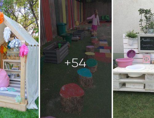 Hodiny zábavy pre deti na čerstvom vzduchu! 50+ urob si sám detských atrakcií pre vašu záhradu