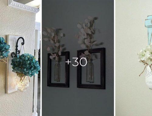 30+ originálnych nástenných dekorácií, ktoré rozžiaria každý domov