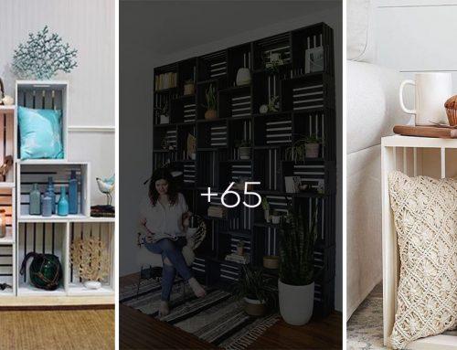 65 nádherných nápadov, ako doma čarovať z drevenými debničkami od ovocia a zeleniny