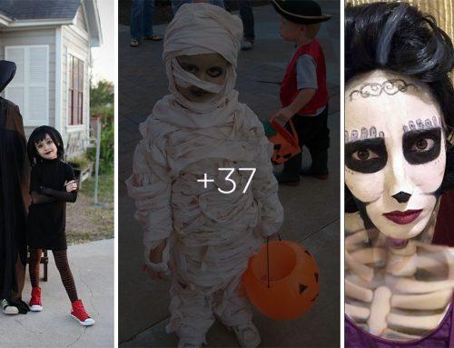 40 fascinujúcich nápadov na strašidelné karnevalové masky pre deti