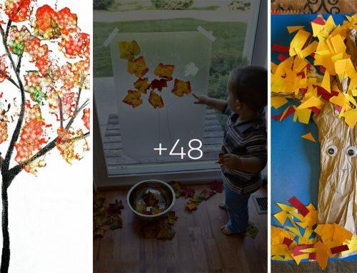 50 jesenných kreatívnych aktivít pre najmenších v pohodlí domova