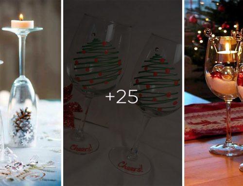 Adventná výzdoba lacno, rýchlo a netradične: Vianočné dekorácie z pohárov na víno
