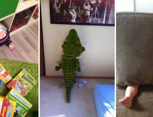 Zbožňujeme hru na schovávačku s deťmi! Nájdete ich všetky?