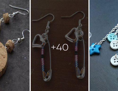 40 jednoduchých šperkov z vecí, ktoré už určite potrebovať nebudete