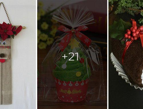 Vyskladajte si uteráky do vianočna. Týchto 20 nápadov vás určite poteší!