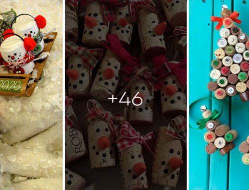 Vyrobte si rozkošné vianočné ozdôbky z korkových zátok. Pozrite si viac ako 40 geniálnych nápadov