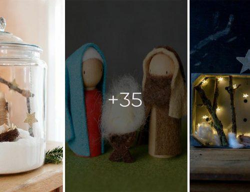 Vyrobte si jednoduché, ale nádherné betlehemy a pripomeňme si tak podstatu vianočných sviatkov