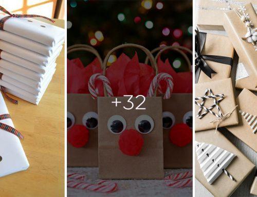 Ako zabaliť vianočné darčeky kreatívne? Pozrite si viac ako 30 geniálnych nápadov!