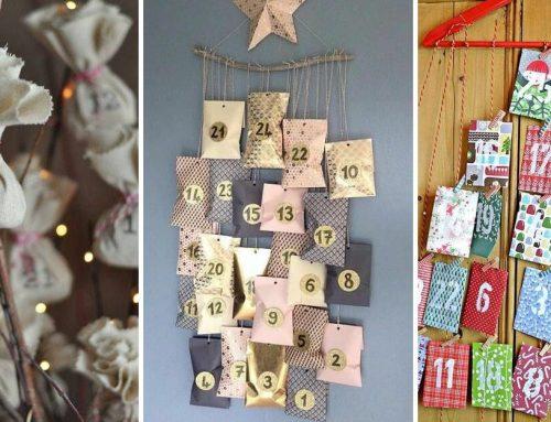 Sladkosti bolo dosť…pozrite si skvelé nápady pre doma vyrobený adventný kalendár