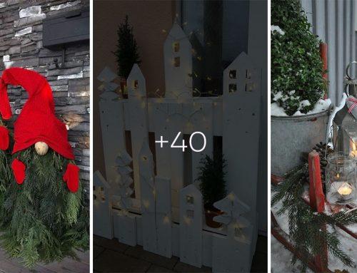 Ako bude vyzerať vaša záhrada či terasa počas najkrajších sviatkov v roku? Máme pre vás 40+ vianočných nápadov!
