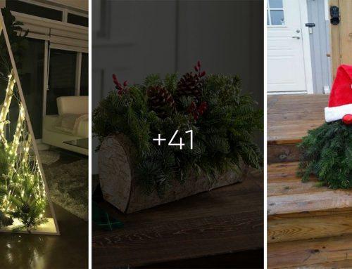 Rozvoňajte váš domov ihličím. Pripravte si vianočné aranžmány z vecí, ktoré pozbierate v okolí domu