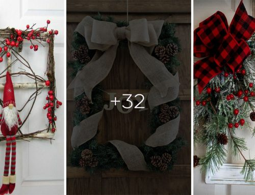 Skúsite vymeniť klasické vianočné vence na dvere za takéto? Vyskúšajte, určite sa vám budú páčiť!