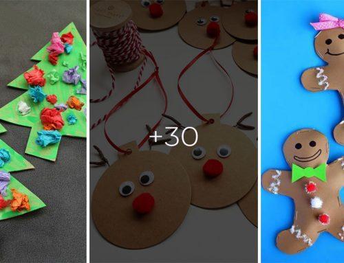 Deti milujú vianočné tvorenie. Vyrobte si spolu s nimi vianočné ozdoby z papiera.