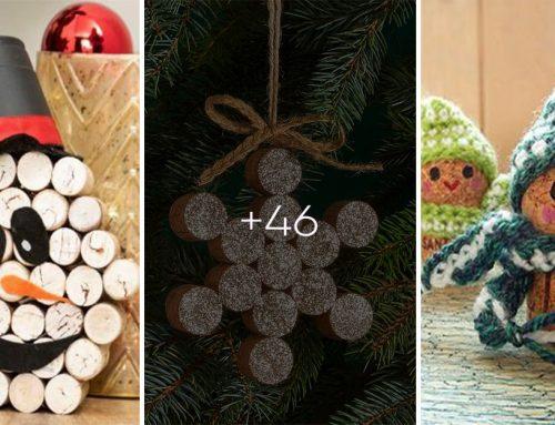 Pripravte si rozkošné ozdôbky na vianočný stromček z korkových zátok. Budú sa vám páčiť!