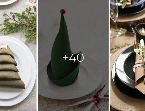 Viac ako 30 kreatívnych nápadov, ako skladať servítky nielen na Vianoce