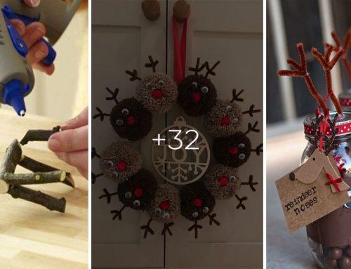 Ktoré zo zvierat sa vám najviac spája s vianočnými sviatkami? Vyrobte si doma vianočných sobov na 30 spôsobov