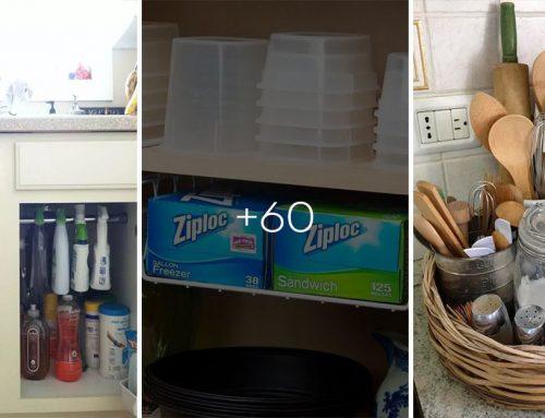 60+ perfektných nápadov, ako si poradiť s chýbajúcim priestorom v malej kuchyni