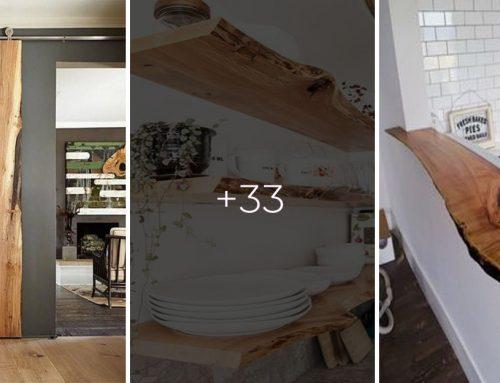 Viete, čo je to nábytok so živou hranou? 30+ perfektných nápadov, ako si spraviť populárny a moderný nábytok pre váš domov