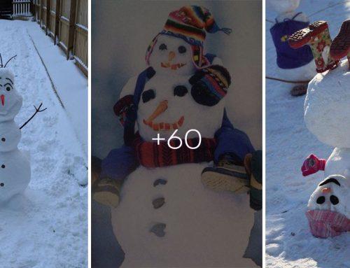 Snehu napadlo všade dosť – poďme stavať snehuliaka. Zabudnite však na klasiku, títo vás nielen inšpirujú, ale aj pobavia