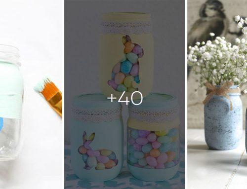 Prezlečte zaváracie poháre do jarného. 40 nápadov ako si jednoducho vyčarovať nielen veľkonočné dekorácie