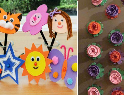 Zahrajte sa s penovou gumou – kreatívne nápady, jednoduché návody a praktické tipy