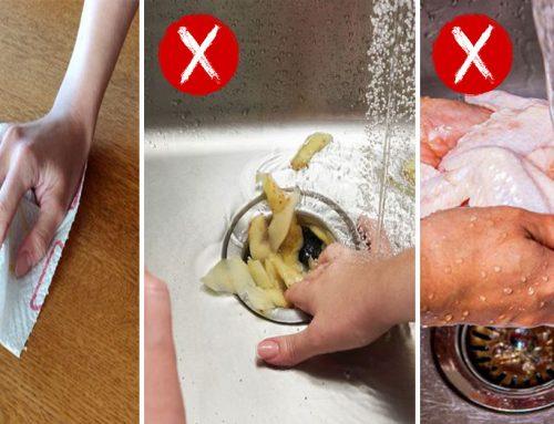 10 zvykov, ktoré ničia naše kuchyne bez toho, aby sme si to vôbec uvedomili. Robíte tieto chyby aj vy?