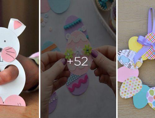 50+ veľkonočných nápadov pre deti, ako postrihať a pomaľovať farebné papiere