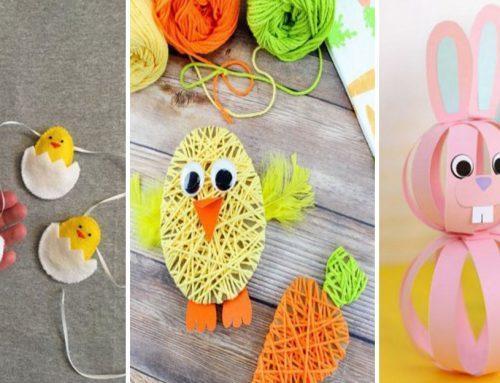 Farebná Veľká noc pre radosť našich detí – nápady pre detské kreatívne tvorenie