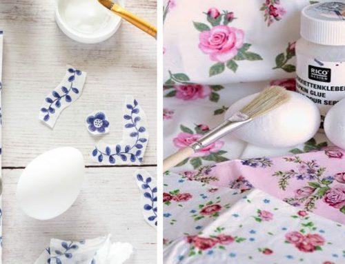 Vyrobte si tento rok originálne veľkonočné kraslice vďaka vzorovaným papierovým servítkam