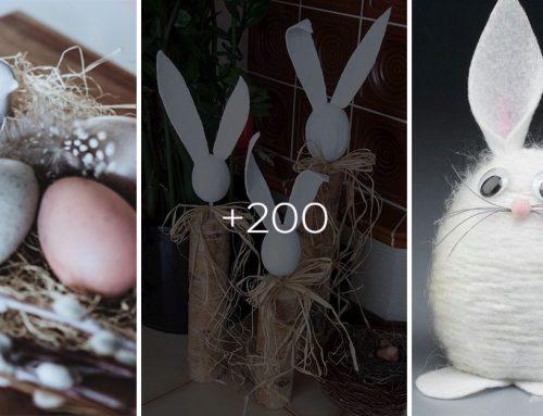 200 nádherných veľkonočných nápadov pre všetky šikovné ručičky, ktoré vám neurobia prievan v peňaženke