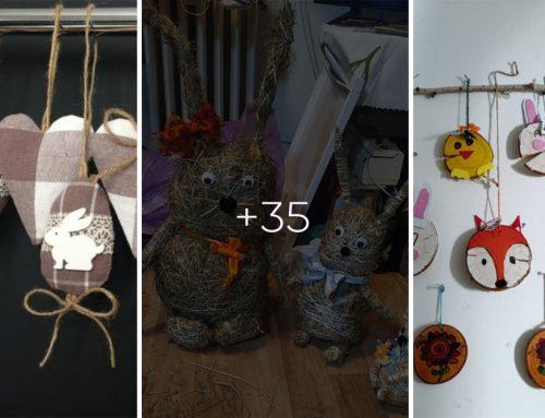 35+ prekrásnych jarných a veľkonočných dekorácií z vašich domácnosti! Inšpirujte sa našimi čitateľmi