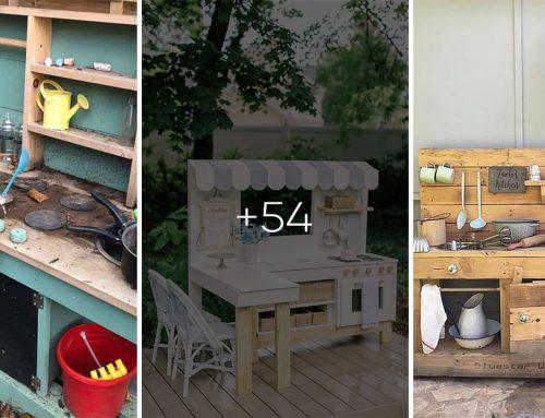 Najkrajšie kuchynky na záhradu pre deti. 30 fantastických nápadov, ako si ich vyrobiť. Inšpirujte sa!