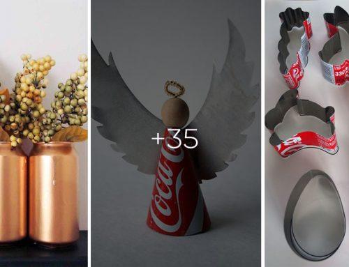 35 parádnych nápadov, ako využiť plechovky z pivka nielen na výrobu dekorácií
