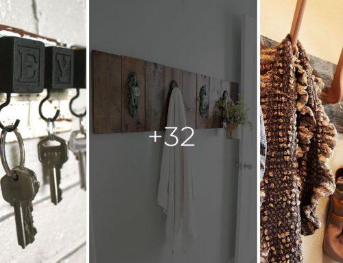 Máte doma staré haraburdy? Vyrobte si originálne vešiaky do predsiene, kúpeľne alebo kuchyne!