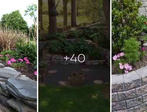 Chýba vašej záhrade niečo extra? Postavte si vyvýšený záhon z kameňa. Máme pre vás množstvo nápadov