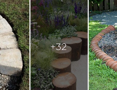 30 skvelých nápadov, ako ohraničiť vaše kvetinové záhony od trávnika a spraviť tak vašu záhradu ešte krajšou