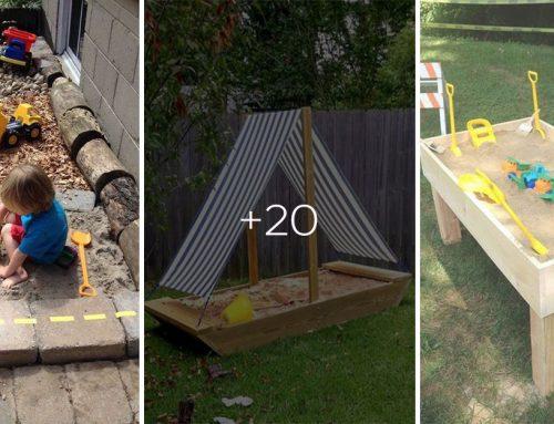 20 kreatívnych pieskovísk do každej záhrady. Množstvo zábavy pre všetky deti