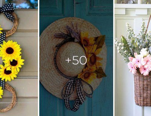 20 rozkošných nápadov na letné vence, ktoré oživia vaše vchodové dvere. Využite úpeky na tvorivú činnosť