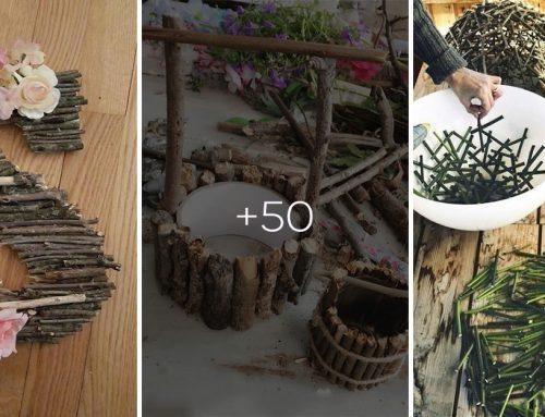 Prineste si prírodu domov a pripravte si niektorú z týchto 50 dekorácií vyrobených z popadaných konárov