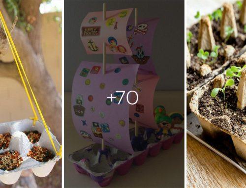 70 perfektných nápadov, ako zúžitkovať kartónové obaly od vajíčok. Teraz už ich nebudete vyhadzovať