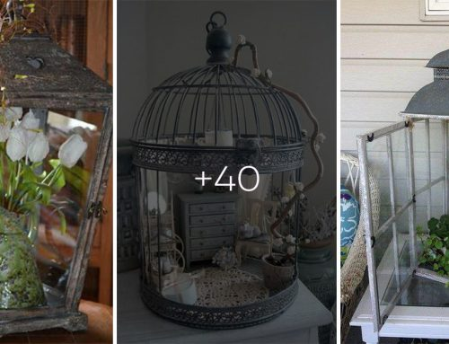 Zaobstarajte si obyčajný lampáš a premeňte ho na rozprávkovú dekoráciu vlastnými rukami