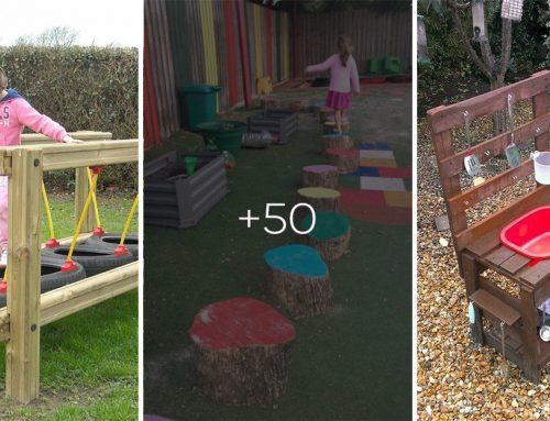 50+ fantastických detských atrakcií do každej záhrady. Tieto zvládnete spraviť sami a zaručia hodiny zábavy na čerstvom vzduchu