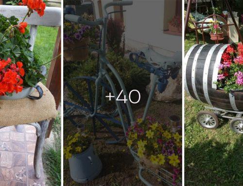 Inšpirácia z vašich záhrad: Ako sme pretvorili starý odpad na úžasné a originálne dekorácie