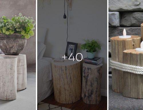 Hľadáte inšpiráciu do moderného interiéru? Pekný drevený klátik ako stolík alebo kreslo tam určite zapadne