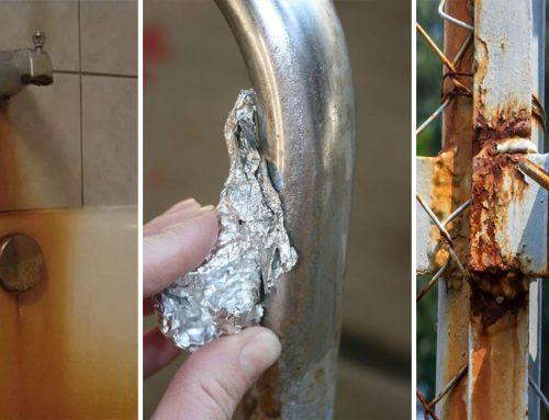 10 skvelých tipov, ako odstrániť hrdzu zo železa, chrómu alebo oblečenia