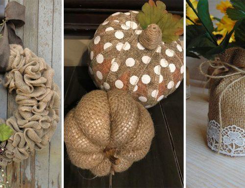 25+ krásnych dekorácií z jutoviny na nadchádzajúce jesenné mesiace. Skúsite si ich vyrobiť?