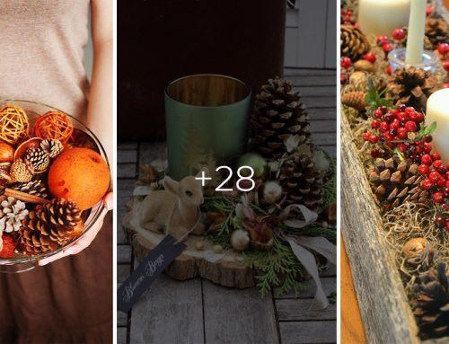 Zabudnite na plastové dekorácie. 25+ prírodných jesenných inšpirácií na váš stôl