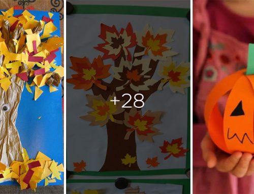 Vyberte si farebné papiere a pustite sa do jesenného tvorenia z našimi najmenšími.